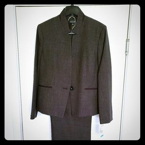 Like New (Tags On) Charcoal Women's Pants Suit